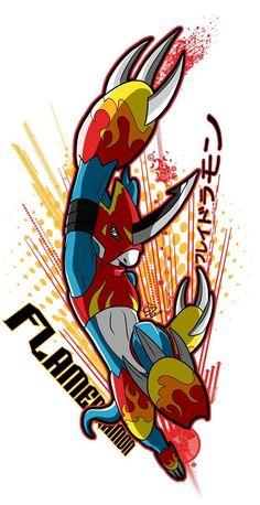 Flamedramon by ToranekoStudios on DeviantArt Digimon Tattoo, Gatomon, Digimon Adventure 02, Digimon Frontier, Digimon Digital Monsters, Manga Games, Art Pictures, Character Art, Anime Art