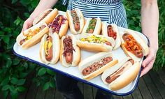 Gourmet Hot Dog Party