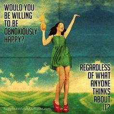 """Happiness is never an emotion. It's an awareness.""  www.fitness-science.net #monikatarkowska #latrainer #fitness #inspirational #fitnessscience"