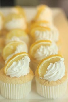 Yummy Yellow lemon cupcakes  MontanaRosePainter
