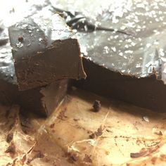 Peppermint Mocha Fudge (Paleo, No Refined Sugar) | Habit and Behavior Change™