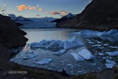 This is the highlight of 4 months backpacking through South America; Sunset at Glacier Grey Chile [987658] [OC] #reddit