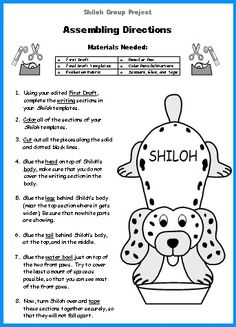 shiloh cereal box book report Use this creative writing project as an inspiring and engaging activity for gifted students the cereal box book report is a unique way to present a novel creatively.