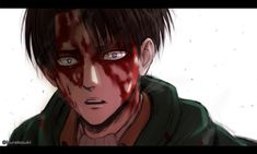 """Lena_レナ """"Blood sergeant. True for his fallen soldiers."""""""