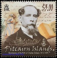 Dickens postage stamp 2012