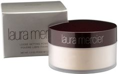 "Laura Mercier Translucent powder. Great for ""baking"""
