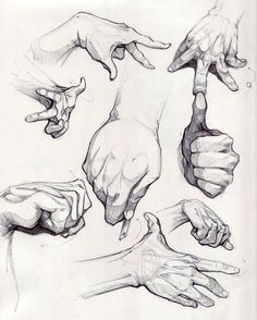 """Drawing Anatomy & Art official (@drawing.anatomy.and.art) no Instagram: """"Hand drawing"""""""
