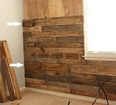 Need to make a pallet wall - this will definitely happen