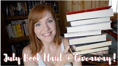 July Book Haul & Giveaway!