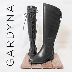 Spice up your Fall shoe collection with a lace up boot. Check out the Gardyna!  #boots #falloutfit #baretrapsshoes