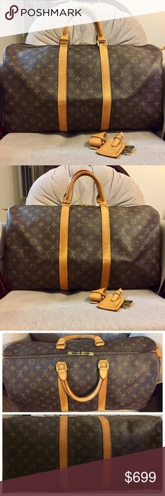 0ad03bb2f379 Louis Vuitton Keepall 50 100% Authentic  GOOD CONDITION Made in France Date  Code