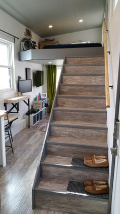 Tech Friendly and Contemporary/Modern Tiny House - A custom 303 square feet (including lofts) tiny house in Columbus, Ohio.