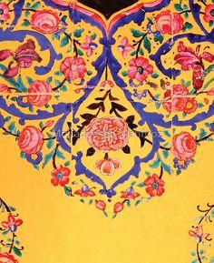 Persian Illustration Art Print by mojtaba - X-Small Islamic Art Pattern, Pattern Art, Islamic Art Calligraphy, Persian Calligraphy, Calligraphy Alphabet, Persian Motifs, Persian Pattern, Celtic Art, Celtic Dragon