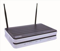 Billion 7800NXL Triple WAN Wireless-N 3G/4G LTE ADSL2 /Fibre Broadband Router Black/White