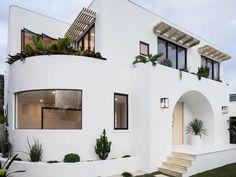 Inside an Ibiza-inspired beach pad on the Gold Coast - realestate.com.au Dream Home Design, My Dream Home, Home Interior Design, House Design, Dream House Exterior, Mediterranean Homes, House Goals, Exterior Design, Ibiza