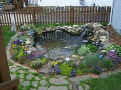 BACKYARD POND | Backyard ponds ideas collections | Pictures Photos Images Galleries of ...