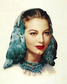 dreaminparis:  Ava Gardner by Paul Hesse, 1940'S
