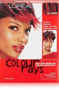 L'Oreal Paris Colour Rays Hair Color, Red Rays (2 Pack)
