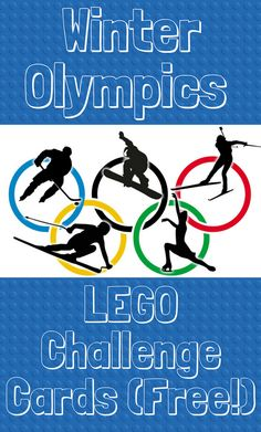 Lego Challenge cards are a favorite bonus to our homeschool day. These Olympic-themed Lego cards will make a great addition to our Olympic unit study.