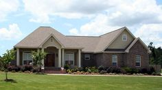 House Plan 59173 | Country European Traditional Plan with 1900 Sq. Ft., 3 Bedrooms, 3 Bathrooms, 2 Car Garage at family home plans