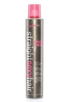 Defend your style against fuzz-inducing humidity with this spray that acts as a padlock against all the elements. But beyond its flyaway-fighting effects, we love it for its ability to give our hair a Kate Middleton-worthy sheen. Straight Sexy Hair Smooth & Seal Aerated Anti-Frizz and Shine Spray, $15.09; soap.com