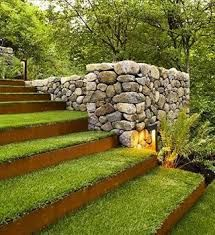 Image result for grass steps