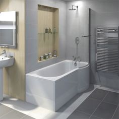 curved bath tub home shower baths curved return. Black Bedroom Furniture Sets. Home Design Ideas