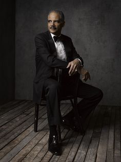 Photos: Inside Mark Seliger's Facebook Portrait Studio at the 2014 Vanity Fair White House Correspondents' Party | Vanity Fair Eric Holder