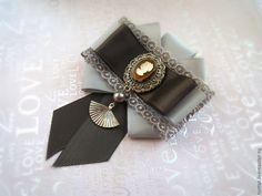 Купить Коллекция брошей Эллада. - серый, брошь, брошь серая, брошь-орден, брошь текстильная