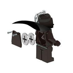 LEGO Star Wars Darth Vader Key Light ** Details can be found by clicking on the image. (This is an affiliate link) Lego Cupcakes, Lego Star Wars, Darth Vader, Key, Stars, Awesome, Link, Check, Image