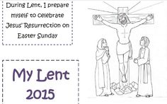 Familia Católica: Lent Lapbook 2015 for little children (translation from the Spanish version)