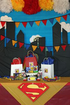 Superman was Adopted - Adoption Party theme Superman Birthday Party, 4th Birthday Parties, Boy Birthday, Birthday Ideas, Superhero Baby Shower, Superhero Party, Adoption Party, Backdrops For Parties, Party Time
