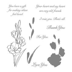 Gift of Love Photopolymer Stamp Set by Stampin' Up!