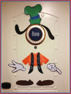 Goofy Body Part Magnet For Cruise Door by HairMajestyBoutique, $18.00