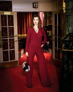 Fashion remembers Hollywood glamour with a season full of amazing reds. B-Metro Magazine, October 2015  #fall #altheatre #fashion #bham