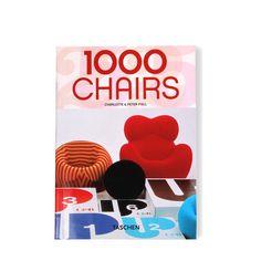 Libro 1000 sillas - Taschen