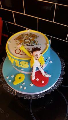 Freddie Mercury Birthday Cake For A Best Friend