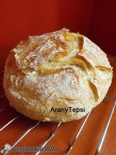 DNK, avagy dagasztás nélküli kenyér recept aranytepsi konyhájából - Receptneked.hu Diabetic Recipes, My Recipes, Bread Recipes, Vegan Recipes, Cake Recipes, Cooking Recipes, Baking And Pastry, Bread Baking, Healthy Homemade Bread