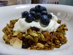 Great granola recipe with the lot!