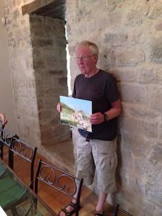 John Chapman wins Best Painting of the week on Painting Holiday May 2015