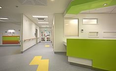 pdt architects | the prince charles hospital paediatric emergency centre | pdt + sth | architecture | interior design | landscape architecture | #health #interior | http://www.pdt.com.au/projects/prince-charles-paediatric/