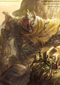 Transformers movie - Megatron by GoddessMechanic.deviantart.com on @deviantART