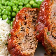 The Best Meatloaf Recipe – Spend With Pennies La mejor receta de pastel de carne: gastar con centavos Classic Meatloaf Recipe, Meat Loaf Recipe Easy, Meatloaf Recipes, Meat Recipes, Cooking Recipes, Meatloaf Sauce, Betty Crocker Meatloaf Recipe, Beef Recepies, Chicken