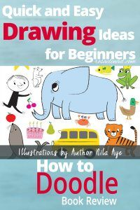 How to Doodle: Quick and Easy Drawing Ideas for Beginners Quick Easy Drawings, Easy Doodles Drawings, Easy Drawing Steps, Easy Drawings For Kids, Simple Doodles, Drawing Lessons, Drawing Tips, Drawing Ideas, Doodle Books