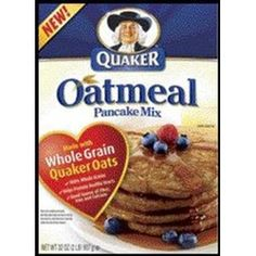 Quaker Oatmeal Pancake Mix, 2 points,   4 points plus serving = 2 pancakes
