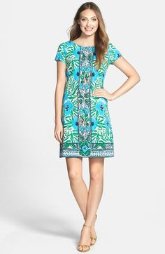 Lilly Pulitzer® 'Layton' Print Shift Dress available at #Nordstrom