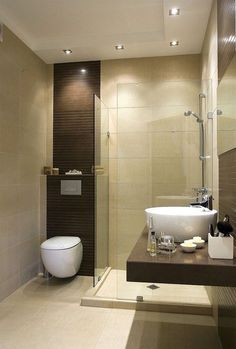 When it comes to great bathroom design, the inspiration is endless. Master Bathroom Layout, Beige Bathroom, Bathroom Design Small, Bathroom Interior, Modern Small Bathrooms, Modern Bathroom, New Interior Design, Bathroom Toilets, Bathroom Inspiration