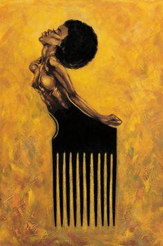 Black Women Art!, Visit fuckyeablackart.tumblr.com for more !