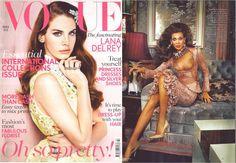 Alexander McQueen featured in British Vogue, March 2012
