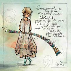 """MYRA & les couleurs ...: mon amie """"LUCE"""" Image Positive, Drawing Conclusions, Life Philosophy, French Quotes, Watercolor Cards, Illustrations, Art Quotes, Drawing Quotes, Drawing Drawing"""